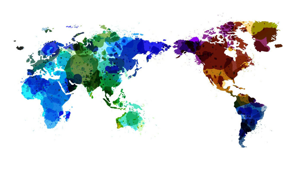 Vector World Map Watercolor Dreamstime.com-ID 28152149 © Sawitri Khromkrathok, dreamstime_xxl_28152149